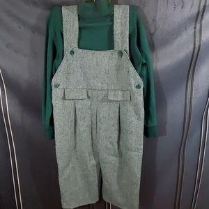Strasburg wool overalls NWT